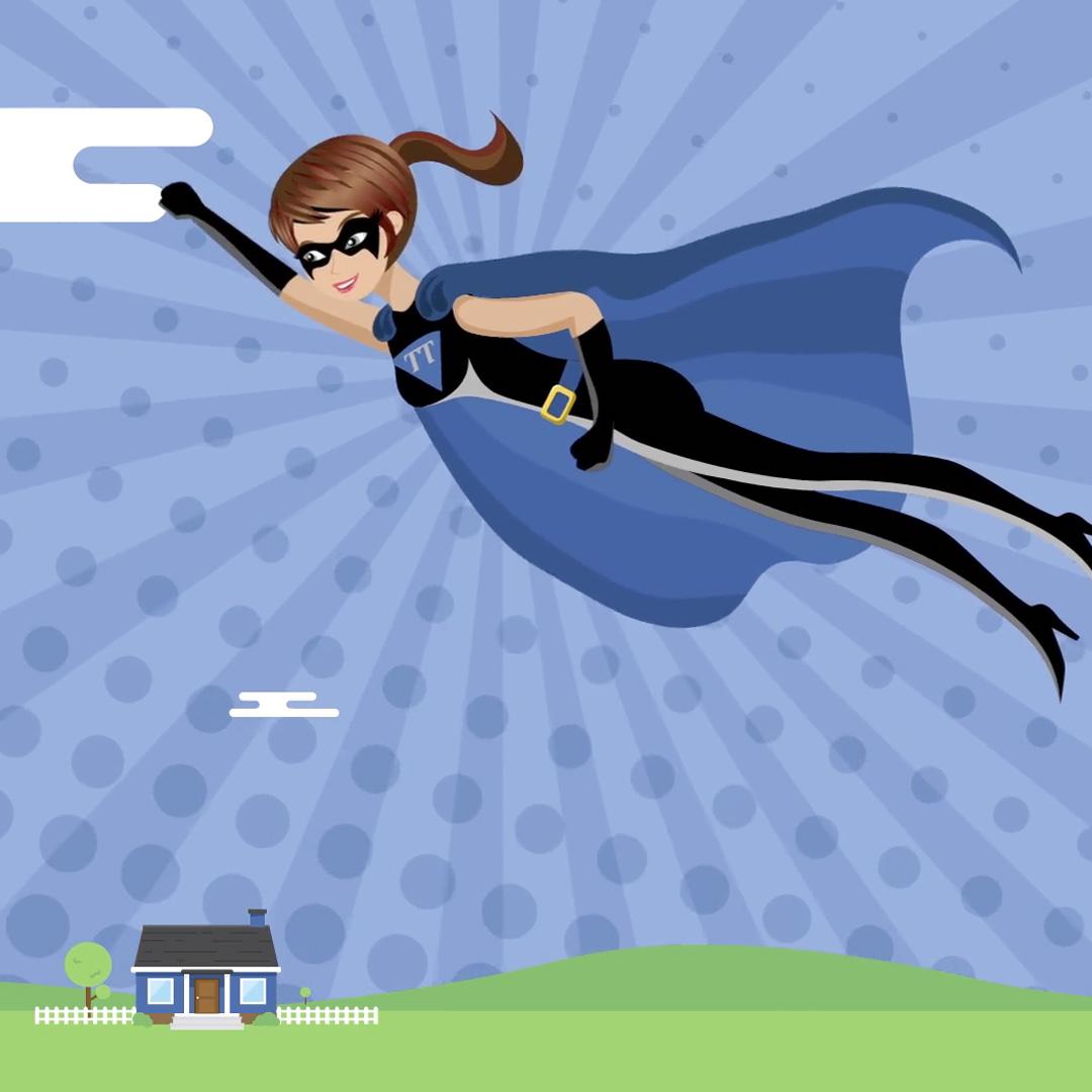 Trademark Title Superhero