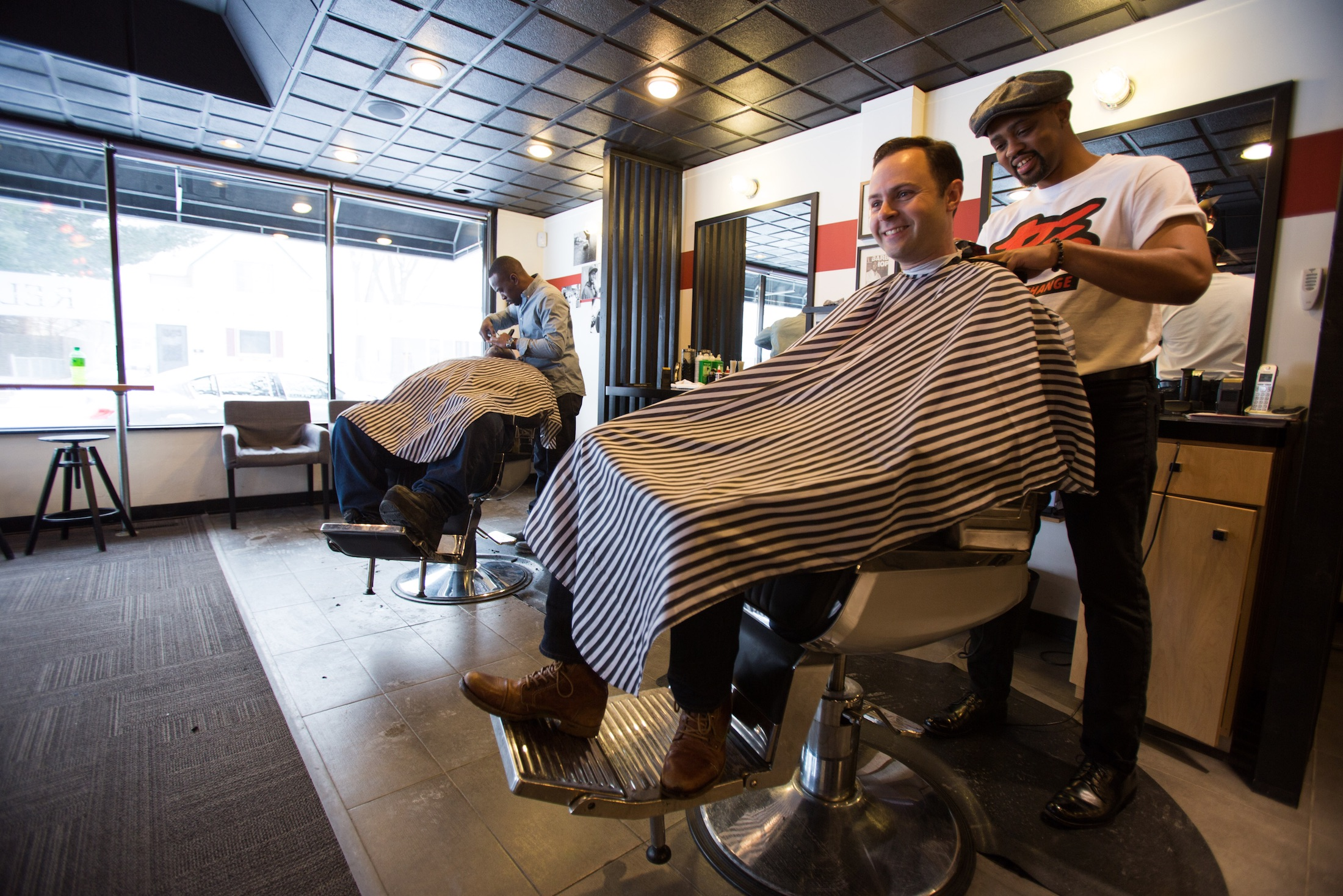 Can a haircut change the world?