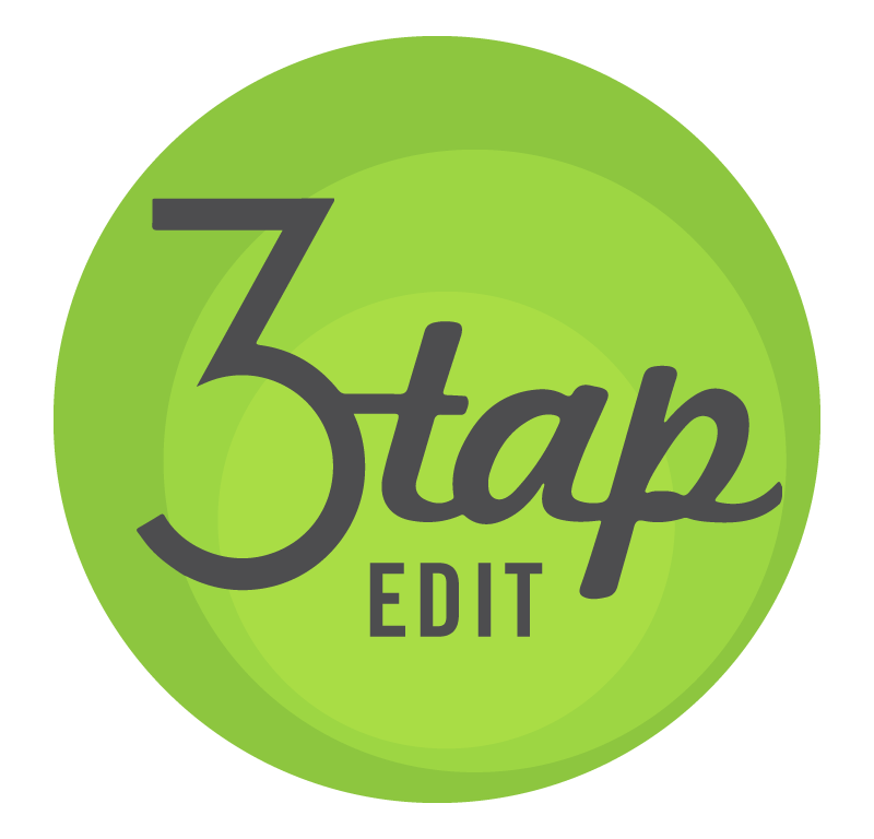 3 Tap Edit Logo